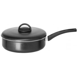 Frigideira Especial - cabo baquelite - tampa antiderente - cor preta